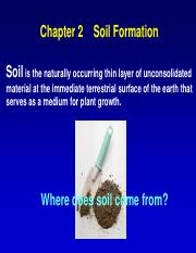 CH2 Soil formation副本