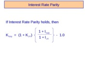 Glaxo-Interest_Rate_Parity