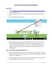 Lab 9 PhET Simulation Static Equilibrium(1).pdf