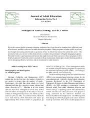 Principles of Adult Learning - An ESL Context.pdf