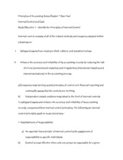 Principles of Accounting Notes Chapter 7 Stan Deal
