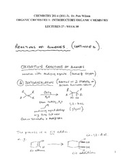 CHEM 281 2011-3 Lecture Notes 27 - WEEK 10