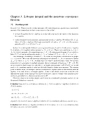 Chapter 3 Notes on Lesegue Integral