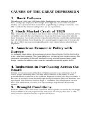 CAUSES OF THE GREAT DEPRESSION.docx