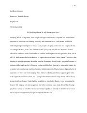 Essay#2 - Studying Abroad