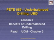 Lesson 3 Benefits of UBD