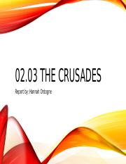 02.03 The Crusades Assessment.pptx