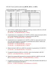 SHS 450 Practice problems dB SPL dB HL dB SL_Answers(1)