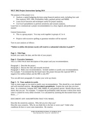 Rophemeric Induction Project Instructions - MGT 3062