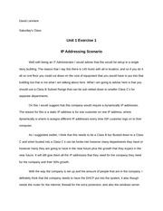 nt1330 ip addressing scenario Unit 4 assignment 1 ad design replication scenario - download as word doc (doc / docx), pdf file (pdf), text file (txt) or read online ad design replication scenario.
