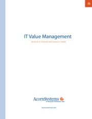 IT Value Management