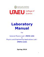 PEA_Lab Manual_Feb. 13th 2014