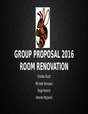 Group Proposal 2016