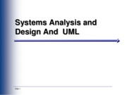 Ch01-Intro to System Analysis and design