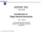 1._Intro_Aircarft_Structures_-_Hw1