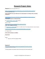 ResearchProjectNotes(3).doc