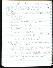 Set theory notes on Rotation
