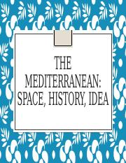 1 What is the Mediterranean