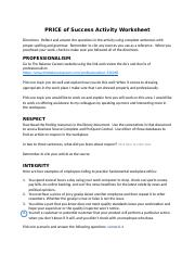 PD121-P.R.I.C.E. of Success Activity Worksheet (5).docx