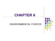 Chapter 6 - Environmental Forces