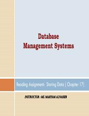 2 Storing_Data(READING ASSIGNMENT)