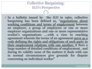 Collective Bargaining- ILO's Perspective (Presentation)