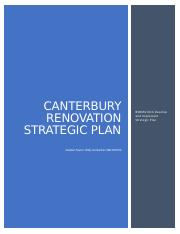 Canterbury renovations business plan opinion essay as a test