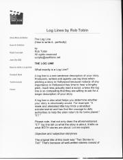 log lines by bob tobin.pdf