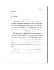 Graded English Paper