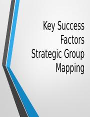 KSF and Strategic Groups.pptx