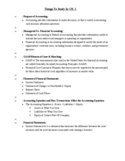 Study Guide Ch 1
