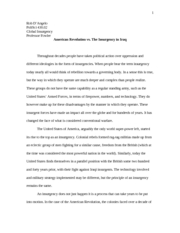 Global Insurgency Paper