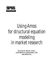 Using Amos for structural equation modeling in market research.pdf
