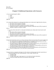 Chapter 9 Additional Questions with answers