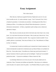 french study resources 2 pages essay assignment