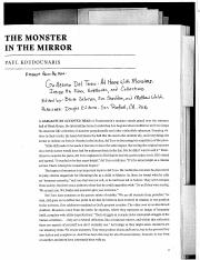 GDT and Monsters Chapter Excerpts
