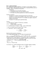 Stat 235 ANOVA Notes