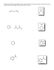 Substitution Reactions problems