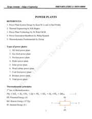 Power Plant Lecture Notes.pdf