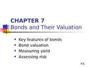 Chapter 07 - Bond evaluation