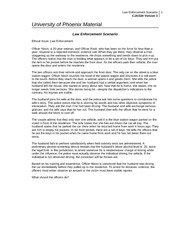 ethical dilemma worksheet law enforcement scenario Natural law theory is a legal theory that recognizes the connection between the law and human morality this lesson explores some of the principles of the natural law theory, as well as provides examples of ethical scenarios and how natural law theory would attempt to resolve those dilemmas.