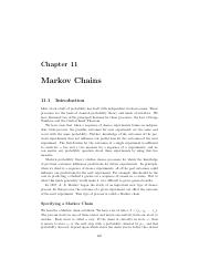 03.1 Markov Chains