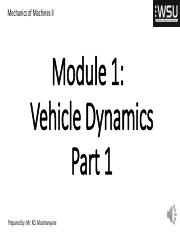 Vehicle Dynamics -Part 1_ Module 1.pdf