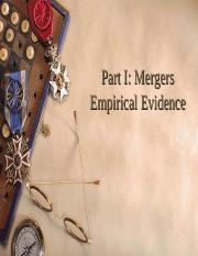 Mergers (empirical evidence).ppt