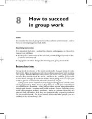 How_to_Succeed_in_Group_Work