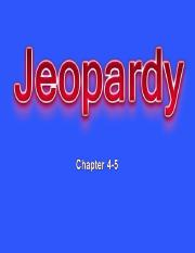 chapter 4-5 jeopardy.ppt