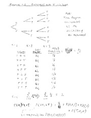 Phys 191 Pascal Triangle Notes