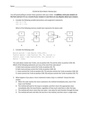 CSE 8A fall 2014 Week 3 Review Quiz-2