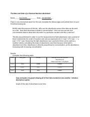 2018 The Rate and Order of a Chemical Reaction Worksheet - Google Docs.pdf
