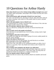 10 Questions for Arthur Hardy